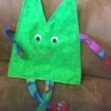 Marionnette à main Pointillé Verte