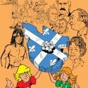 Le Québec en 215 tableaux, d'hier à aujourd'hui (papier)